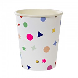 Toot Sweet Charms 9oz Paper Cup, 8pcs