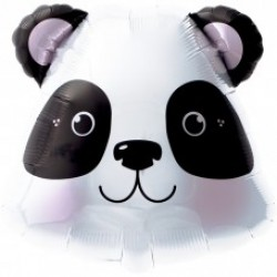 "Panda Head 14"" Air-filled Foil Balloon"