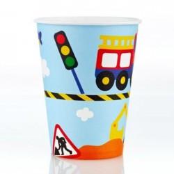 Transport 9oz Paper Cup, 12pcs
