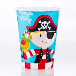Pirate 9oz Paper Cup, 12pcs
