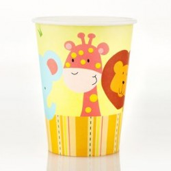 Jungle 9oz Paper Cup, 12pcs