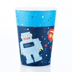 Robot 9oz Paper Cup, 12pcs