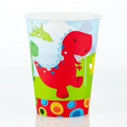 Dinosaur 9oz Paper Cup, 12pcs