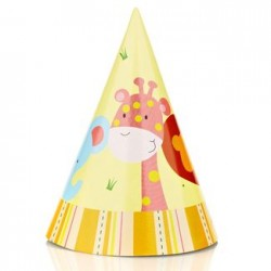 Jungle Party Hat, 12pcs