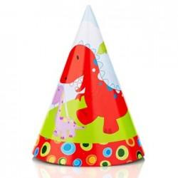 Dinosaur Party Hat, 12pcs