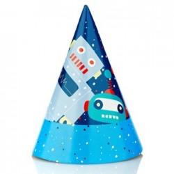 Robot Party Hat, 12pcs