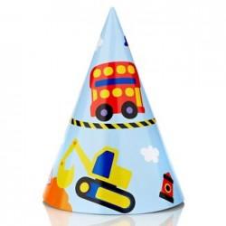 Transport Party Hat, 12pcs