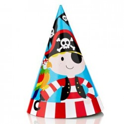 Pirate Party Hat, 12pcs