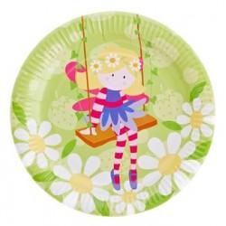 """Fairy 9"""" Paper Plate, 12pcs"""