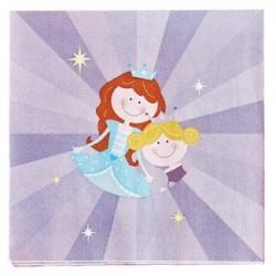 Princess Napkin 33 x 33cm, 12pcs