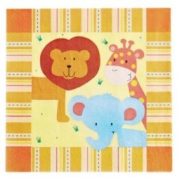 Jungle Napkin 33 x 33cm, 12pcs