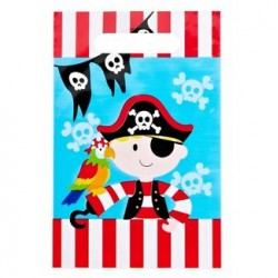 "Pirate Loot Bag 6"" x 9"", 12pcs"