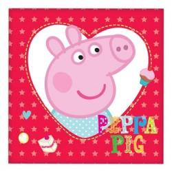 Peppa Pig Napkin 33 x 33cm, 16pcs