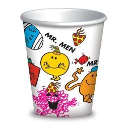 Mr Men 9oz Cup, 8pcs