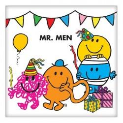 Mr Men Napkin 33cm x 33cm, 16pcs