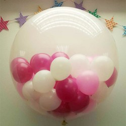 """36"""" Round Clear Stuffing Balloon"""
