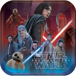 "Star Wars Episode VIII 9"" Paper Plate, 8pcs"