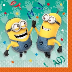 Despicable Me Minion Napkin, 16pcs