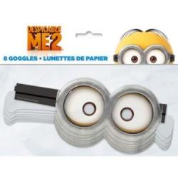 Despicable Me Minion Paper Goggle, 8pcs