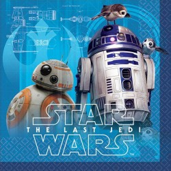 Star Wars Episode VIII Beverage Napkin, 16pcs