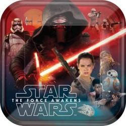 "Star Wars EP Vll 9"" Plate, 8pcs"