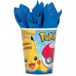 Pokemon Core 9oz Paper Cup, 8pcs