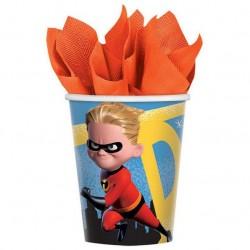 Incredibles 2 9oz Paper Cup, 8pcs