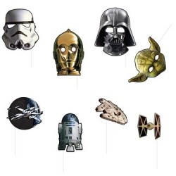 Star Wars Photo Booth Props, 8pcs