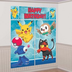 Pokemon Core Scene Setter Wall Decoration
