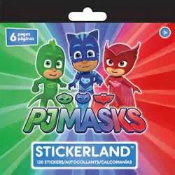 PJ Masks Sticker Pad (120 Stickers)