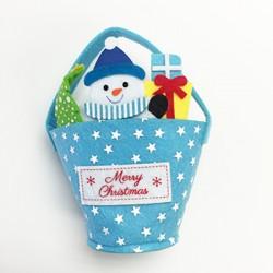 Christmas Gift Bag - Blue
