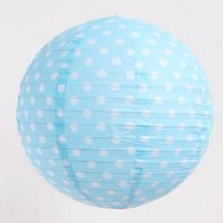 Lantern - Dots Blue