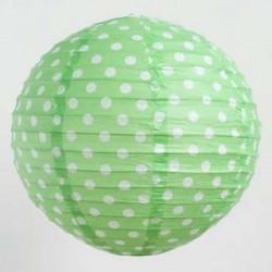 Lantern - Dots Green