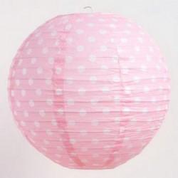 Lantern - Dots Pink