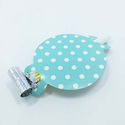 Party Blowout - Dots Blue, 6pcs