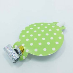 Party Blowout - Dots Green, 6pcs