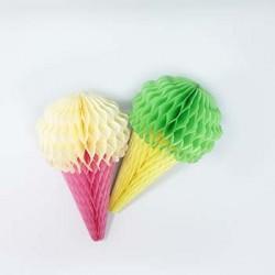 Honeycomb - Ice-Cream Cone, 2pcs