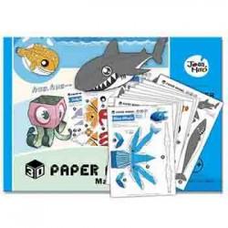 Paper Model - Under The Sea
