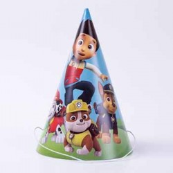 Paw Patrol Party Hat, 6pcs