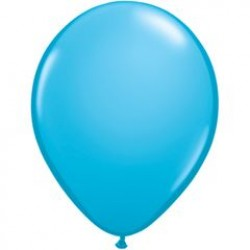 """11"""" Round Robin's Egg Blue Latex Balloon (with helium)"""