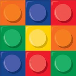 Block Party Napkin 24.8 x 24.7 cm, 16pcs