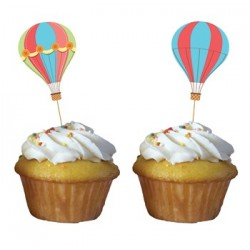 Up & Away Cupcake Pick, 12pcs