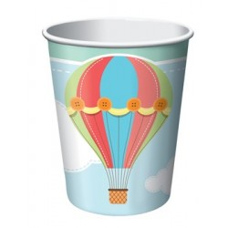 Up & Away 9oz Paper Cup, 8pcs