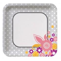 "I Do Cake 7"" Paper Plate, 8pcs"