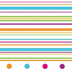 Happy Dots Beverage Napkin 24.8 x 24.7cm, 16pcs