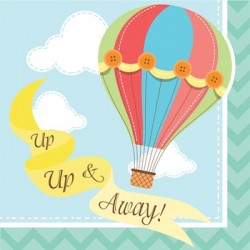 Up & Away Napkin 24.8 x 24.7 cm, 16pcs