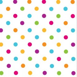 Happy Dots Napkin 32.7 x 32.7cm, 16pcs