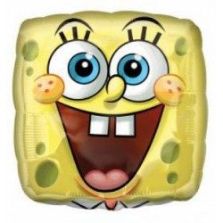"Sponge Bob Square Face 18"" Foil Balloon"