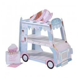 Ice Cream Van Stand - 34 x 37 x 20cm