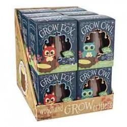 Grow Fox & Owl, 1pc